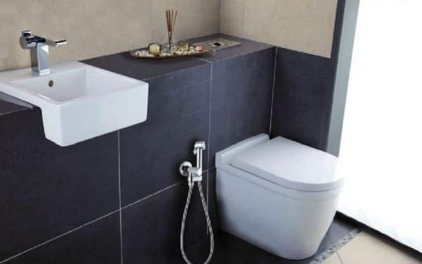handdouche voor toilet