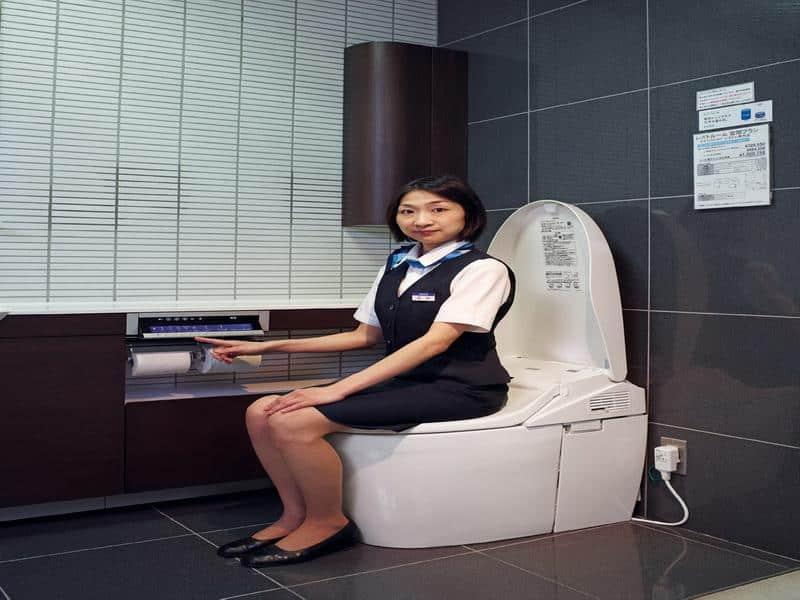 Toto Toilet With Washlet