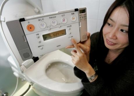 Japan Land Van Het Bidet Toilet Frissebips
