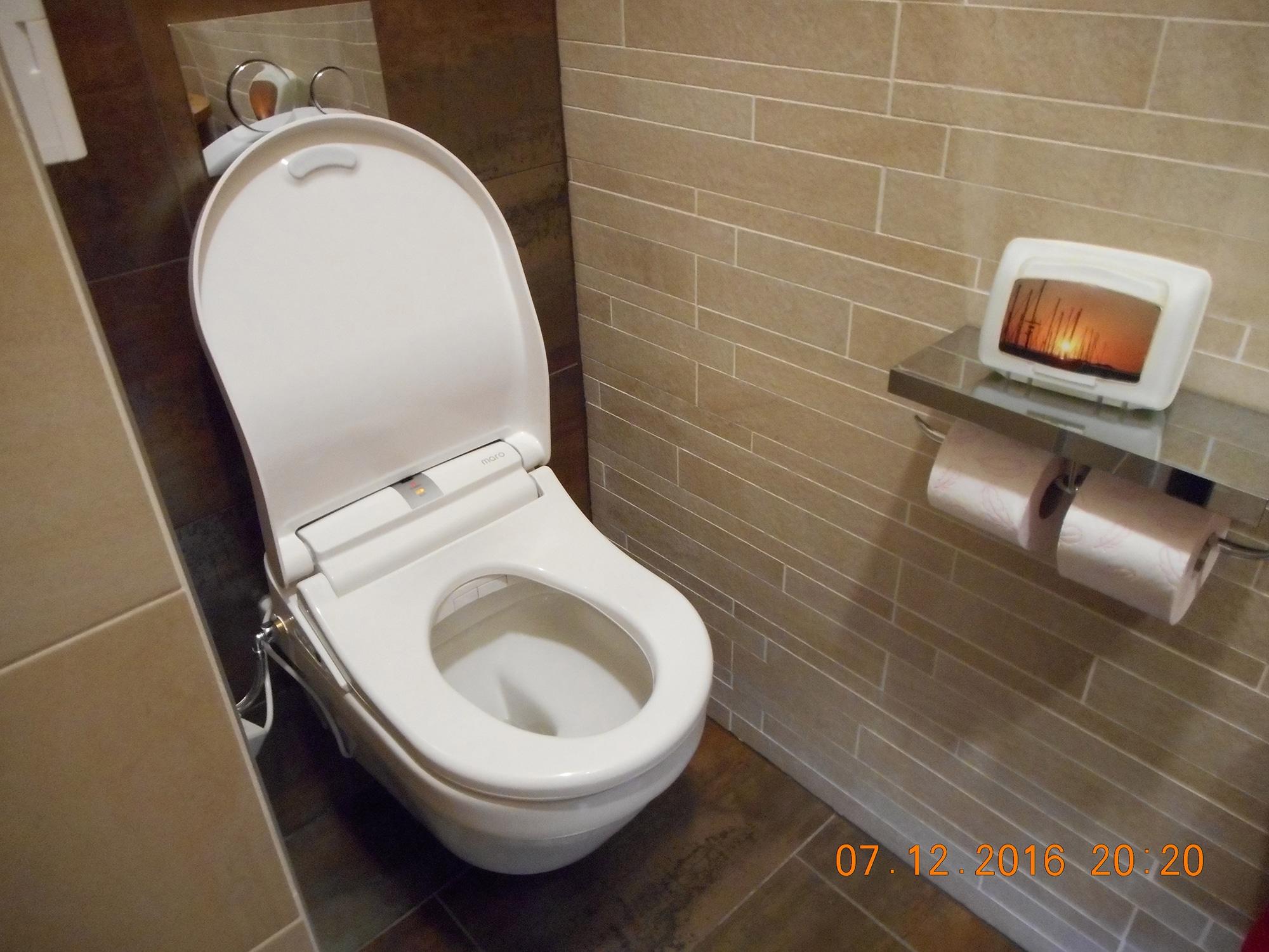 Toilet Met Douche : Een tweede maro douche wc laten installeren