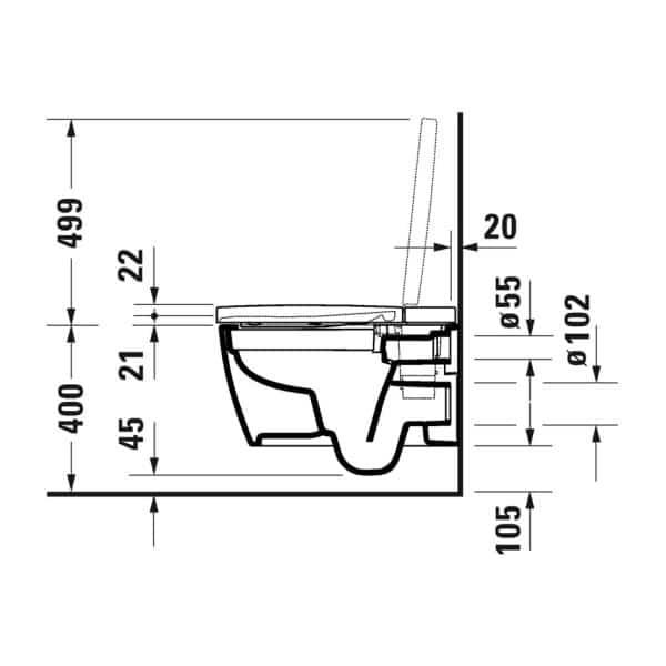 Duravit_Starck_F_technische_tekening_1