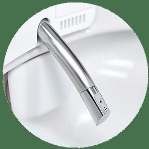 Maximum Hygiene for nozzle